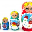 Nesting Dolls — Stock Photo