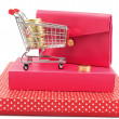 Stock Photo: Gift conceptional objects