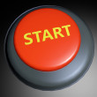 Start 3D button — Stock Photo #22223755