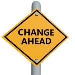 Change ahead — Stock Photo
