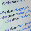 Royalty-Free Stock Photo: HTML source code