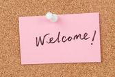 Welcome — Zdjęcie stockowe