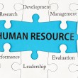 Human resource concept — Stock Photo #32965063