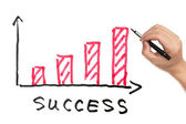 Success concept — Stock Photo