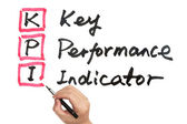 KPI - Key performance indicator — Стоковое фото