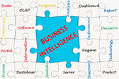 Business intelligence concept — Stock Photo