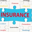Insurance concept word cloud — Stock Photo
