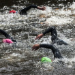 Stock Photo: Swimming at triathlon