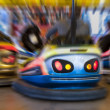 Stock Photo: Zoom on bumper car