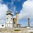 Lighthouse eckmuhl in brittany - Stock Photo