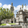 Parish enclosures pleyben in brittany - Stock Photo