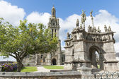 Parish enclosures pleyben in brittany — Stock Photo