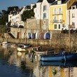 Belle ile en mer en bretagne — Stock Photo