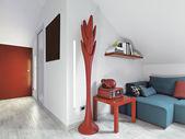 современная гостиная — Стоковое фото