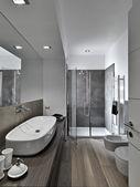现代浴室 — 图库照片