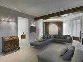 Modern living room — Стоковое фото