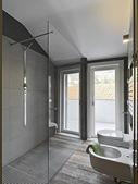 современные bahtroom — Стоковое фото