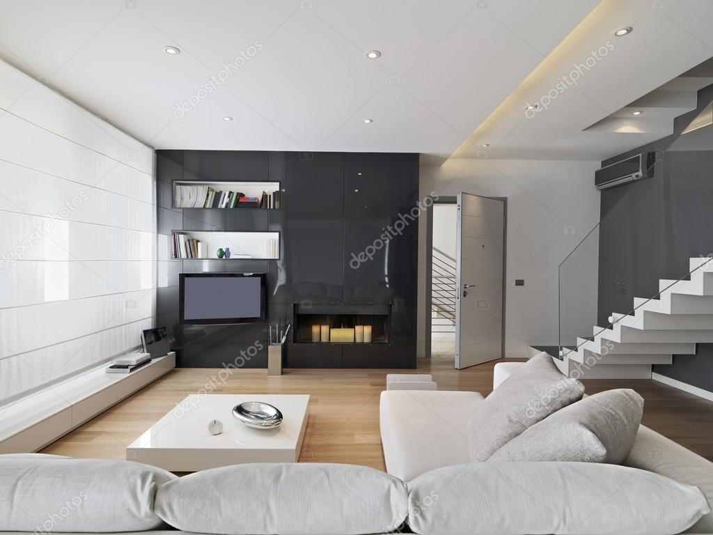 Moderne woonkamer — Stockfoto © aaphotograph #50997699
