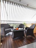 Moderní terasa — Stock fotografie