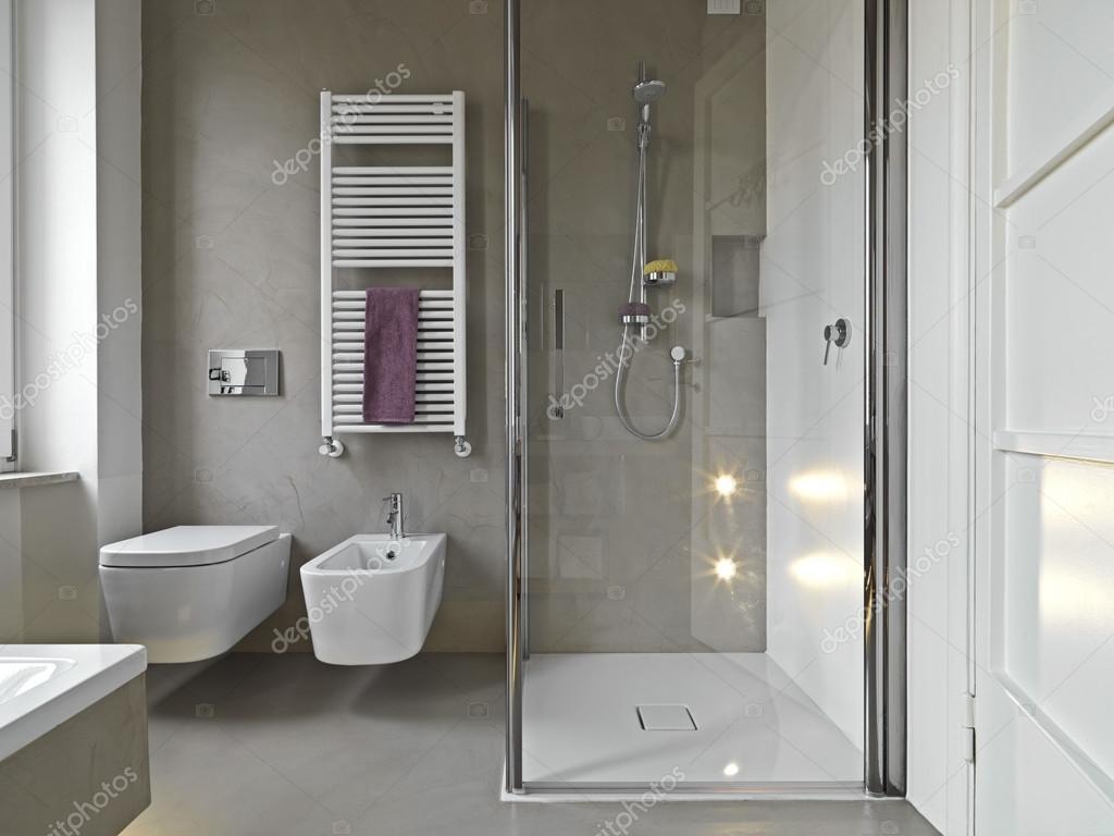 Banheiro modernos — Fotografias de Stock © aaphotograph #51329539 #664D5C 1024 768