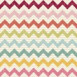 Stock Vector: Seamless color chevron pattern on linen texture
