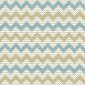 Seamless chevron pattern on linen texture — Stock Vector