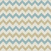 Seamless chevron pattern on linen texture — Stock Vector