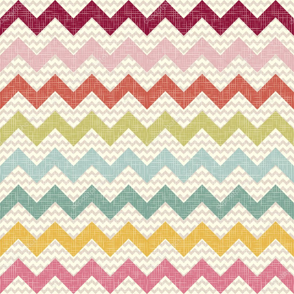 Chevron Pattern Wallpaper http://depositphotos.com/14089969/stock-illustration-Seamless-color-chevron-pattern-on-linen-texture.html