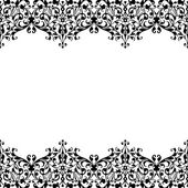Monochrome ornament. — Stock Vector