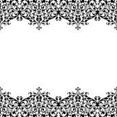 Monochrome ornament. — Stock Vector