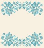 Arka plan çiçek. Dikişsiz dantel — Stok Vektör
