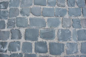 Vintage cobbled road background — Stock Photo