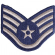 Us air force sergeant rank patch — Stock Photo