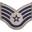 Stock Photo: Us air force sergeant rank patch