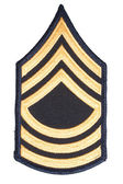 Us army sergeant rank patch — Stock Photo