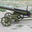 Stock Photo: WWI machine gun
