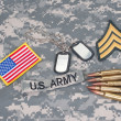 US army — Stock Photo