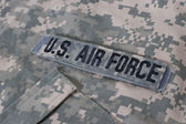 Us air force uniform — Stock Photo
