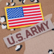 Stock Photo: US ARMY concept