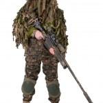 Постер, плакат: Camouflaged sniper