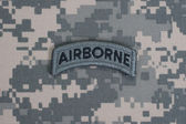 US ARMY ranger tab — Stock Photo