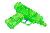 緑のプラスチック水ピストル — ストック写真