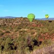 Sedona Balloon Landing — Stock Photo