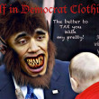 Wolf in Democrat Clothing — Stock fotografie