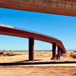 Loop 303 Bridge Interchange Section Near Completion — Stock Photo