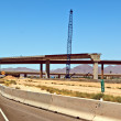 Loop 303 Bridge Interchange Construction — Stock Photo