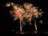 Home Town Fireworks — Stock Photo