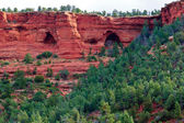 The Arch Caves of Sedona Arizona — Stock Photo
