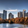Atlanta From Piedmont Park — Stock Photo #11476295