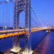 George Washington Bridge in New York — Stock Photo